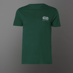 T-shirt Star Wars Return Of The Jedi Lineup - Kelly Green - Unisexe