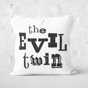 The Evil Twin Square Cushion