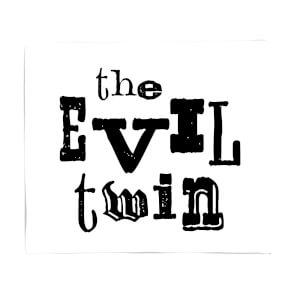 The Evil Twin Fleece Blanket