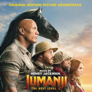 Jumanji: The Next Level (Soundtrack) Coloured 2xLP
