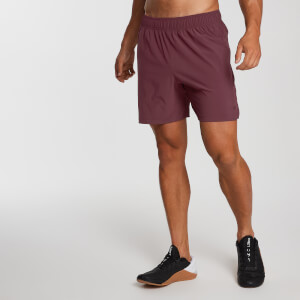 Pantaloncini Training Essential Woven - Rosso scuro