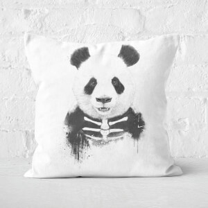 Zombie Panda Cushion Square Cushion