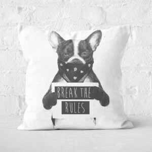 Rebel Dog Cushion Square Cushion