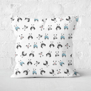 Panda Pattern Cushion Square Cushion