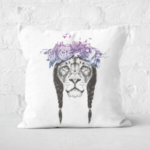 King Of Lions Cushion Square Cushion