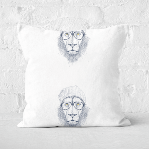Cool Lion Cushion Square Cushion