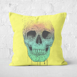 Pop Art Skull Cushion Square Cushion