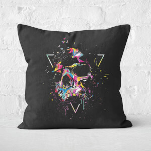 Skull X Cushion Square Cushion