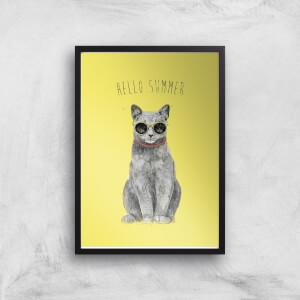 Hello Summer Print Giclee Art Print