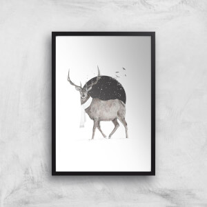 Winter Is All Around Colour Print Giclee Art Print