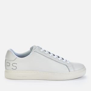 PS Paul Smith Men's Rex Leather Cupsole Trainers - White