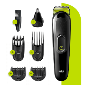Braun All-in-one Trimmer 3 - Volt Green