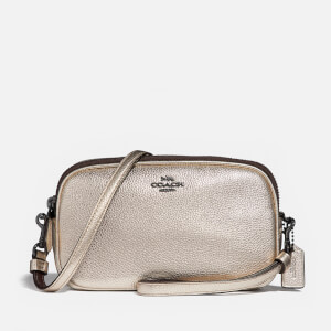 Coach Women's Sadie Cross Body Clutch - Platinum