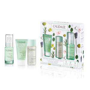 Caudalie Vinopure Natural Routine for Oily Skin Set (Worth $62.00)