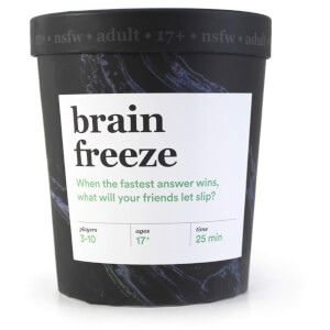 Brain Freeze Card Game (NSFW Edition) from I Want One Of Those