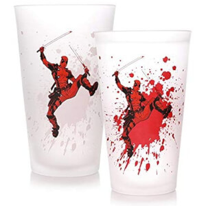 Deadpool Cold Change Glass
