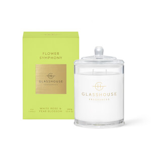 Glasshouse Flower Symphony Candle 380g