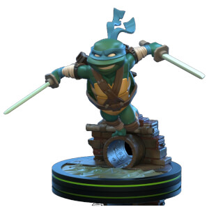 Figurine Q-Fig Tortues Ninja Leonardo 13 cm - Quantum Mechanix