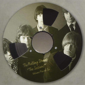 "The Rolling Stones - The Sessions Vol. 5 Limited Edition 10"" Clear Vinyl"