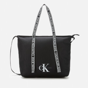 Calvin Klein Jeans Women's Logo Tape Shopper - Black