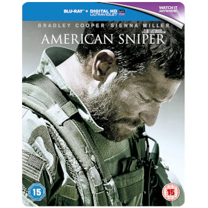 American Sniper - Blu-ray Limited Edition Steelbook