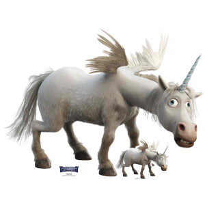 Onward Unicorn Lifesized Cardboard Cut Out