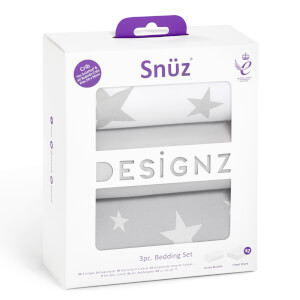 Snüz Crib Bedding Set - Stars (3 Piece Set)