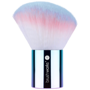 brushworks HD Angled Kabuki Brush - Unicorn