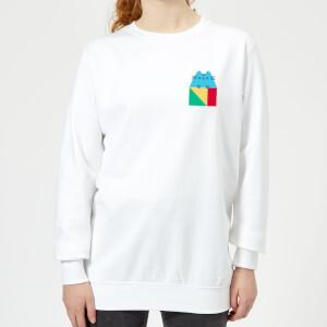 Pusheen Square Women's Sweatshirt - White