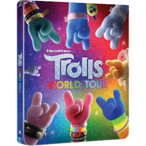Trolls World Tour - Steelbook 3D (Include Blu-Ray 2D) - Esclusiva Zavvi