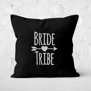 Bride Tribe Square Cushion