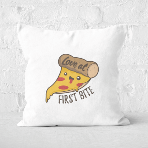 Love At First Bite Square Cushion