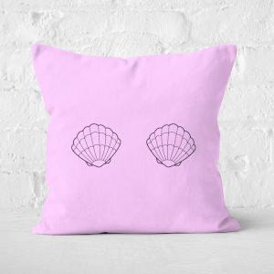 Two Shells Square Cushion