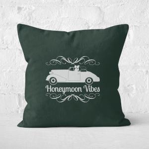 Honeymoon Vibes Square Cushion