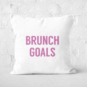 Brunch Goals Square Cushion