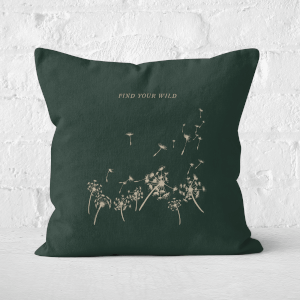 Find Your Wild Square Cushion