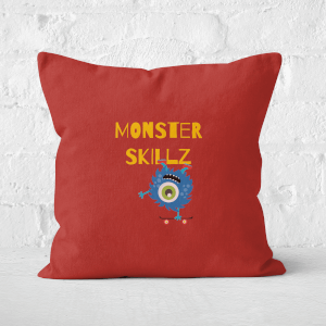 Monster Skillz Square Cushion