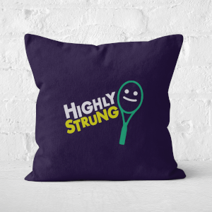 Highly Strung Square Cushion