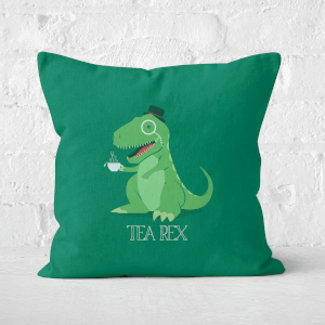 Tea Rex Square Cushion
