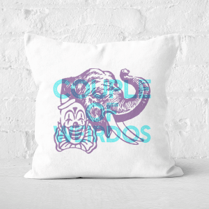 Pressed Flowers Couple Of Weirdos Square Cushion