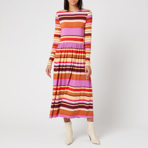 Stine Goya Women's Joel Jersey Midi Dress - Stripes