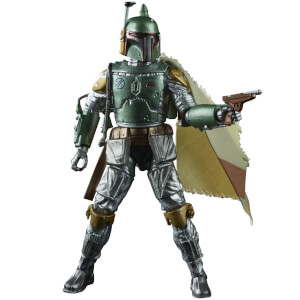 Figura de acción Boba Fett - Star Wars The Black Series Colección Grafito