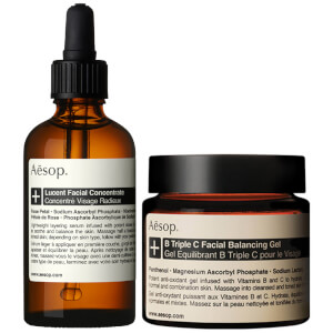 Aesop Lucent Concentrate and Triple C Balancing Gel Duo