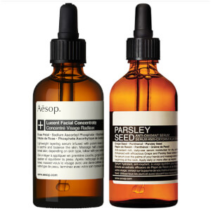 Aesop Lucent Concentrate and Parsley Seed Serum Duo