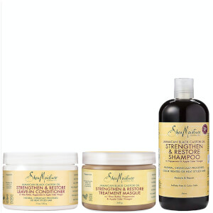 Shea Moisture Jamaican Black Castor Oil Bundle (Worth £38.97)