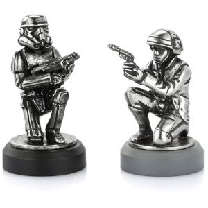 Royal Selagnor Star Wars Chesspiece Rebel Trooper and Stormtrooper (Pawn)