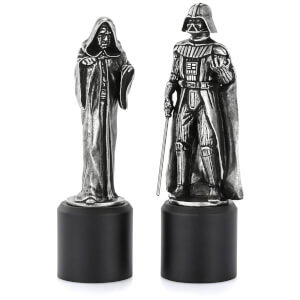Royal Selagnor Star Wars Pewter Chesspieces - Darth Vader and Sidious (King/Queen)