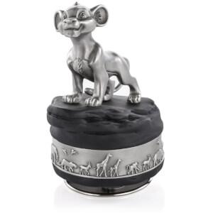 Royal Selagnor Disney Lion King - Simba Pewter Figurine
