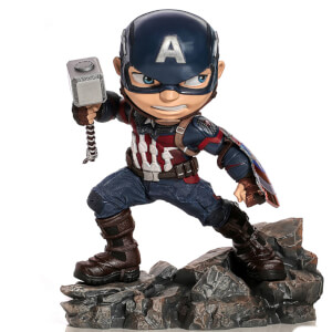 PVC Figur Iron Studios Avengers Endgame Mini Co. Captain America 15 cm