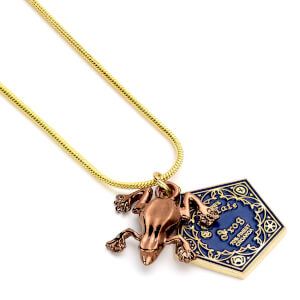 Harry Potter Chocolate Frog Necklace from I Want One Of Those